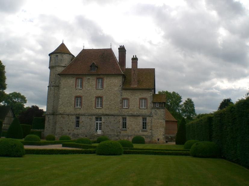 château de Vascoeuil DR